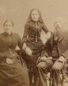 Foto antigua victoriana post mortem