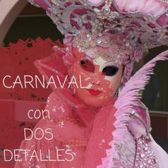 Dos detalles de Carnaval para el programa de Animación Turística